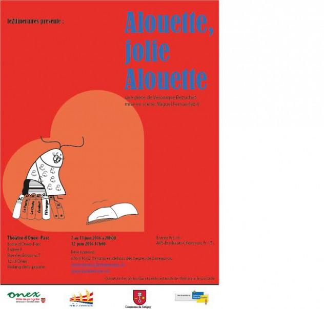 Alouette affiche