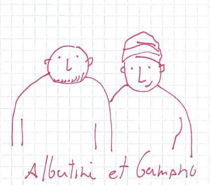 Albertine et Germano