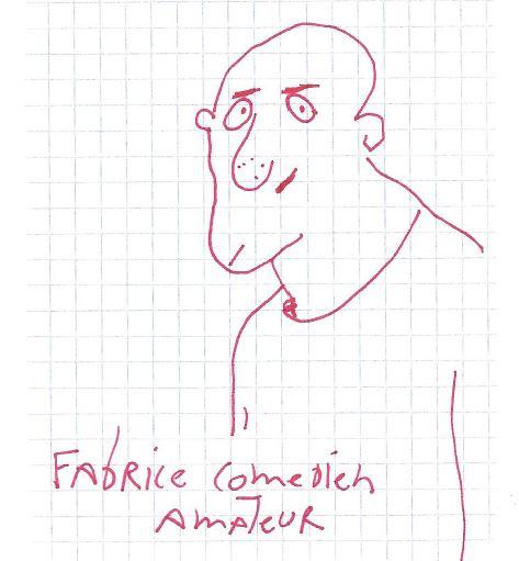 Fabrice, comédien amateur